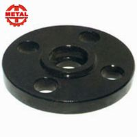 Customized sand black and galvanized cast iron floor carbon steel flange q235