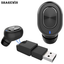 bluetooth earphone magnetic Q702 mini earphone bluetooth Q702 wireless usb adpter magnet
