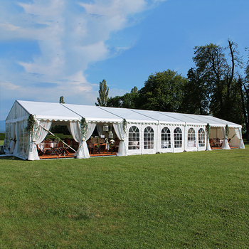 GSL-15 15x20 meters China low price luxury 300 seaters events marquee tent for sale