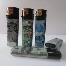OEM Customized Electric Disposable Gas PP Wrapper Cigaretter Lighter