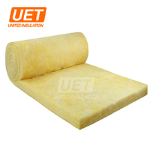glasswool insulation keba roof segments and rolls thermal soundproof isulation dimension laminated with black glass cloth white