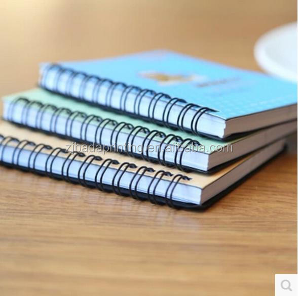 2016 Cute Sprial Weekly Schedule Notebooks For Students