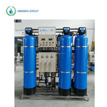 Industrial Aqua drinking water plant with multiply water treatment machine reverse osmosis