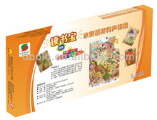 Hot sale educational vegetable learning chart for kids