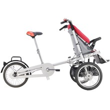 Mother Nad Bady Three Wheel Baby Stroller Bike Walker With Music