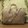 Guangzhou supplier leather travel bag/travel bag leather/mens leather travel bag