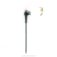 Solar Hummingbird, Solar/Battery Power Fluttering Flying Dancing Hummingbird, outdoor or Indoor
