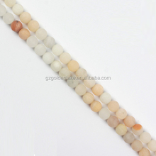 High Quality Gemstone Loose Beads Pink Aventurine Matte Plain Rounds Beads