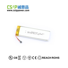 Small lithium 342060 lithium polymer 3.7v 400mah battery for electric toy cars