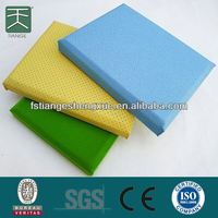 Anti-shock And Sound Reducing Temporary Soundproofing Wooden Grooved Acoustic Panel For Cinema Soundproof