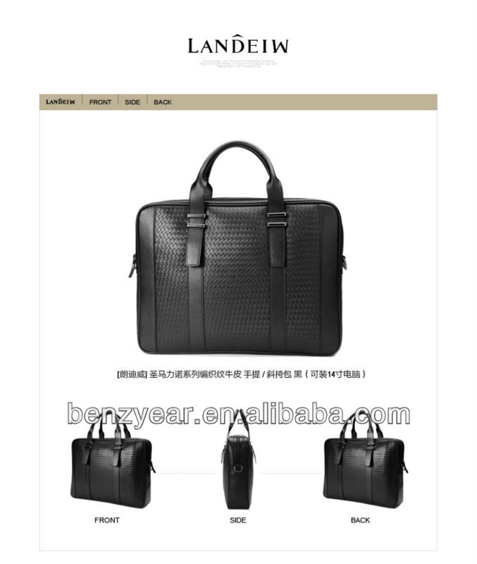 Chinese Bags Newest Men's Leather Satchel Bags