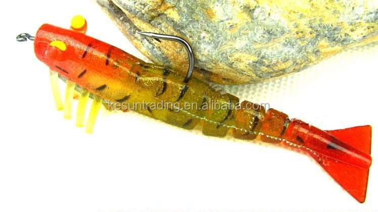 fair price shrimp soft fishing lure/wholesale soft plastic fishing lures