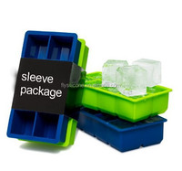 Large Ice Cube Tray - 2 Pack - 2 Inch Cubes Keep Your Drink Chilled