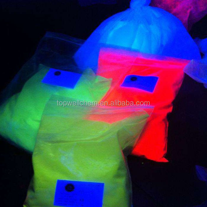 inorganic 365nm UV invisble fluorescent powder uv luminous pigment UV fluorescent powder