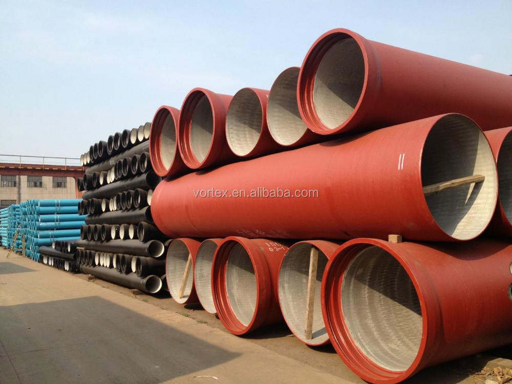 En ductile iron pipe buy water pipeline sewage