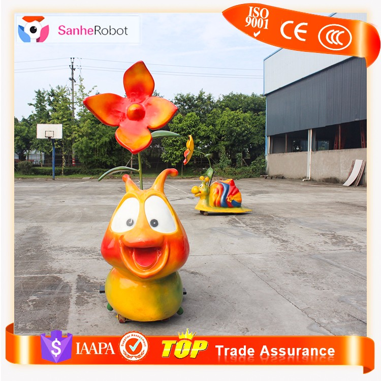 Children Park funny toys machines Cartoon animal kids car electric ride