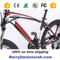 MANSURAH 700C aluminum alloy muscle frame integral wheel track bike/road bike/race bike with adjustable seat post