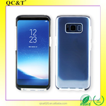 hot selling cell phone case TPU+TPE shockproof case for samsung galaxy S8 cover rock brand