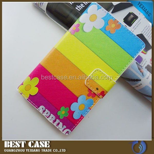 manufacture colorful design leather cover for nikia 1020, flip stand case for nokia 1020