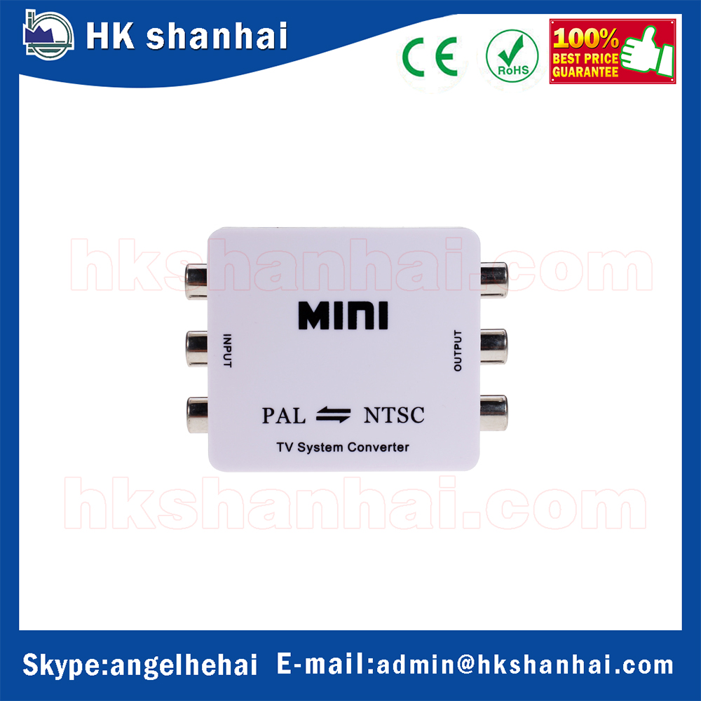 1080P HD mini TV bnc ntsc to pal converter adapter support PAL/NTSC TV format output