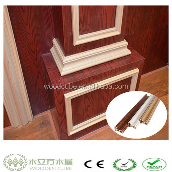 wpc indoor decorative pillars, waterproof board