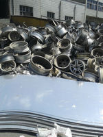 Aluminum wheel scrap selling