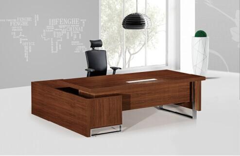 Dise o italiano de escritorio de oficina de madera maciza for Escritorios diseno italiano