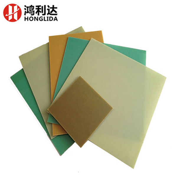 Glass fiber reinforced plastic sheet insulation composite material