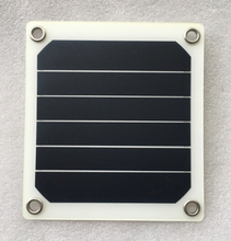 semi flexible solar cells 3w solar panel with solder tabs