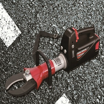 Firefighting rescue equipment 72Mpa electric cutter battery hydraulic cutting tools electric cutter