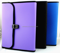 hot sale PP organiser files customized PP organiser files A4 PP organiser files with dividers