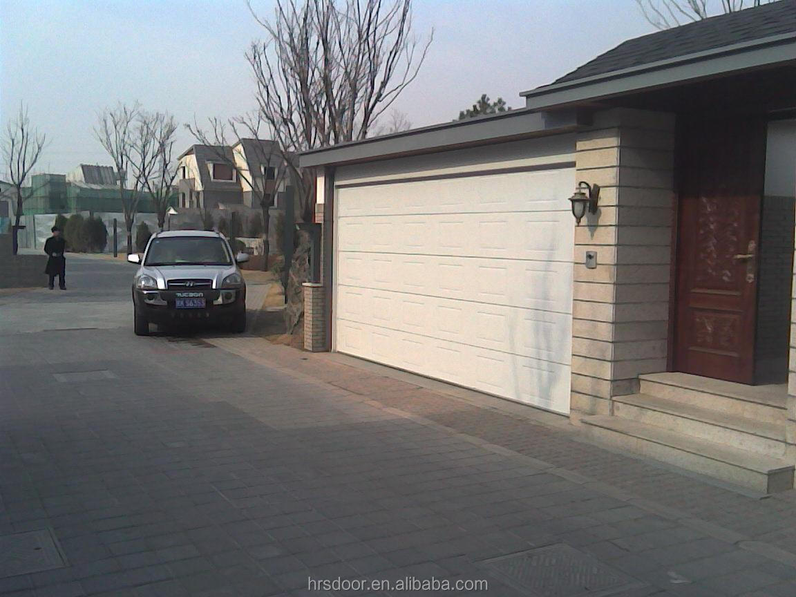 Flush Residential pinch resistant garage door and wood garage door panels sale