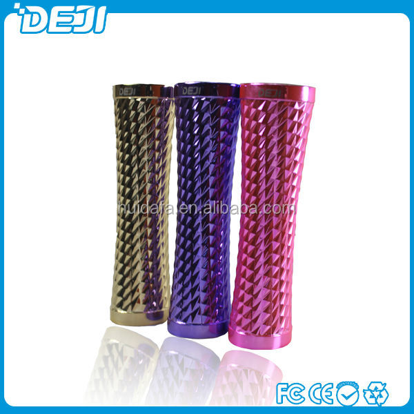 new product, guangzhou TV tower shape high quality lipstick battery charger portable mobile phone power bank with fc ce rohs