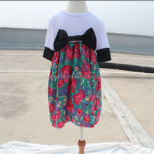 Fashion kids Party Wear Children Long Frock Designs Cotton Casual Names Of Girls Dresses