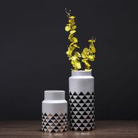2017 Interior decorative porcelain ceramic flower vase for Home Decoration