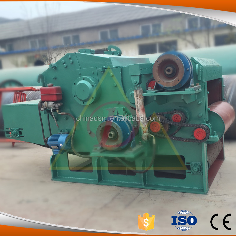 Diesel Engine Industrial Wood Shredder/ Drum Chipper Machine