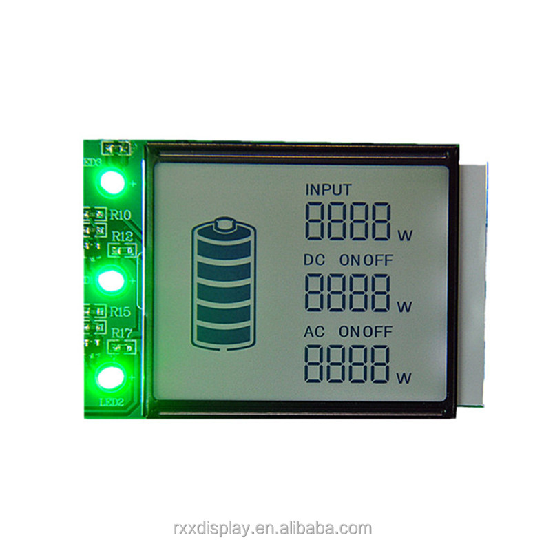TN LCD MODULE DISPLAY LCM WITH 16 PINS SPI INTERFACE FOR ELECTRI PRODUCTS