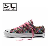 Latest new kids canvas shoes fashion for girls