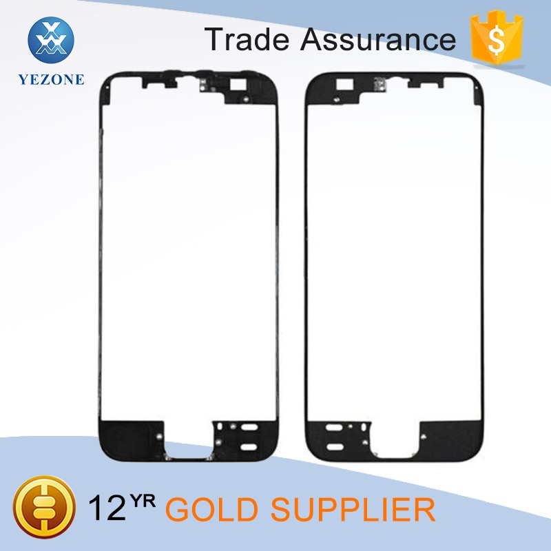 Wholesale Price Lcd Cover for iPhone 5S LCD Touch Screen Holder Front Frame Bezel Housing