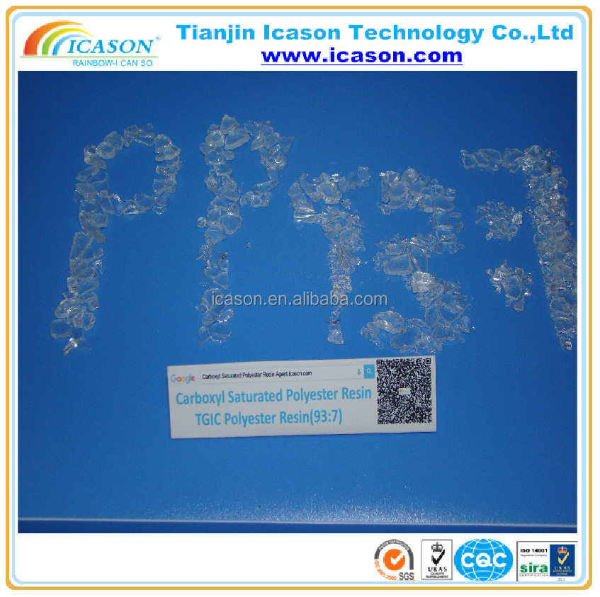 High Quality Pure And Clear Polyester Resin-93:7
