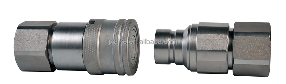 ZJ-FF ISO16028 non-spill hydraulic quick release coupling