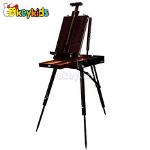 2016 wholesale wooden folding sketch easel, new fashion wooden folding sketch easel, popular wooden folding sketch easel W12B081