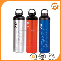 sport bottle water aluminum bottle for drink out door sport bottle screen pring transfer printing laser logo