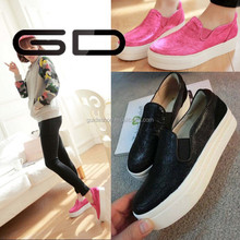 2015 hot sale girl fashion casual shoe for free sample