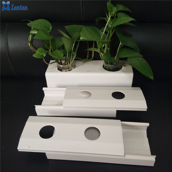 Factory suppliers Supply PVC NFT hydroponic lettuce system pipe With high quality