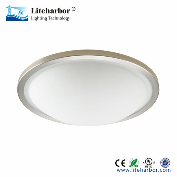 Ceiling mount light fixtures Frosted glass for bathroom