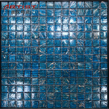 gold line series dubai gold foil swimming pool tile size mosaic glass