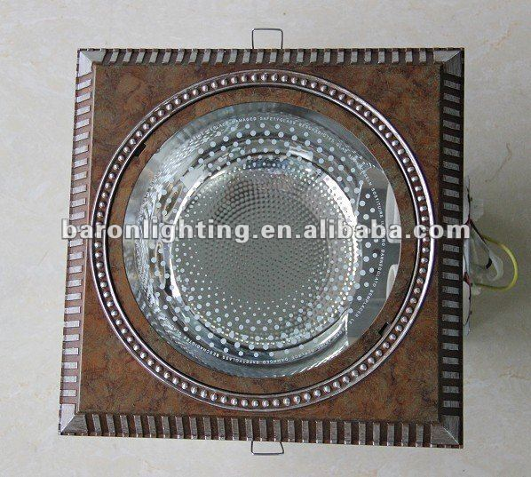 2014 new hot recessed square downlight fitting energy saving light e27 downlight fitting