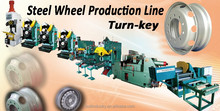 Passenger Car & Heavy Duty Truck Steel Wheel Rim Making Machine