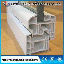 WOW!!!factory price pvc profile extrusion sliding track,upvc profile for window and door